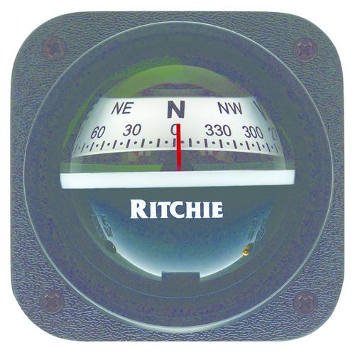Ritchie V-527 Kayak Compass - Bulkhead Mount - White Dial