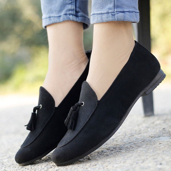 Trendy Soft Velvet Loafer Men Shoes