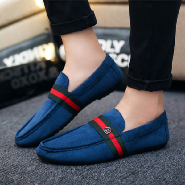 Premium Look Italian Velvet Loafer Shoes for Men