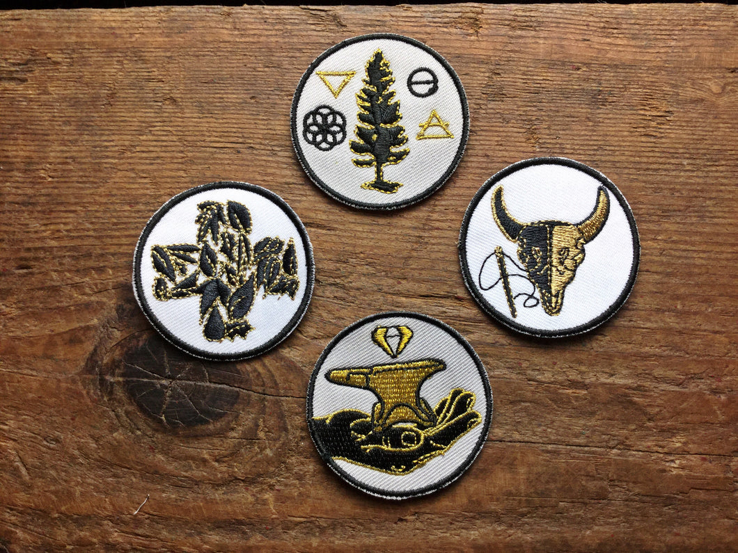 Summer Camp Patches