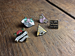 E. Smith Enamel Pins