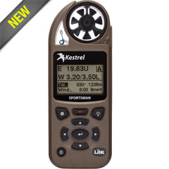 Kestrel Sportsman Weather Meter with Applied Ballistics 0857SLVBRN