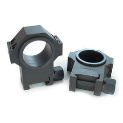 US Tactical Systems Single Width Scope Rings (High Profile) 660-XCA