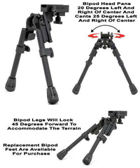GG&G - XDS-2 Tactical Bipod