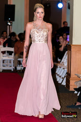 SML42474 - Embellished Fitted Bodice Evening Gown
