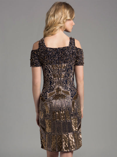 SML33257 - Sparkle  Fashionable Cocktail Dress