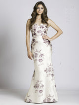 SMC33522 - Rose Radiance Sweetheart Evening Dress
