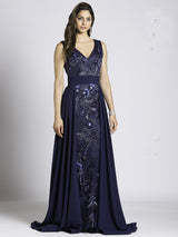 SMC33531 - Shine Through Mesmerizing Dress