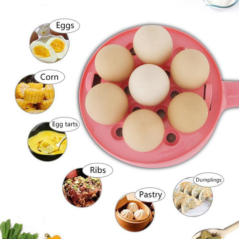 Buy Multifunctional Electric 2 in 1 Frying Pan With Egg Boiler Online