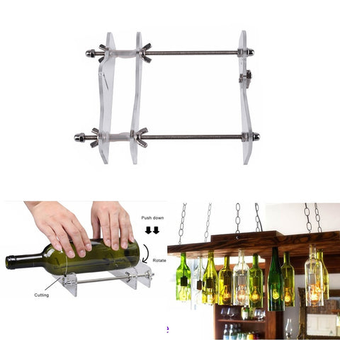 glass bottle cutter diy