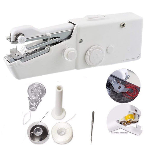 Portable Cordless Hand Held Sewing Machine Stitch Home