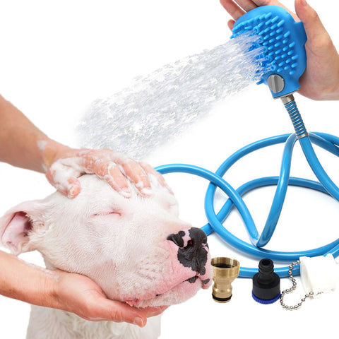Goofy Tails Pet Bathing Shower Tool Palm Sized Pet Hand Massager