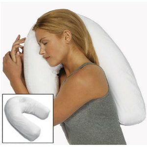 Sidekick Sleeper Pillow Sleep Buddy U-Shaped Pillow Side Sleeper