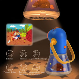 Multi-Function Child Story Projector Starry Portable Sleeping