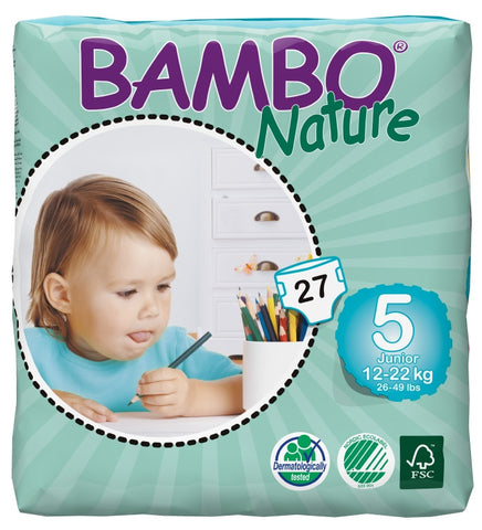BAMBO Nature Junior 12-22 kg 27 vnt./pak. - Biosala