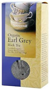 "SONNENTOR juoda arbata ""Early grey"", 90 g - Biosala"