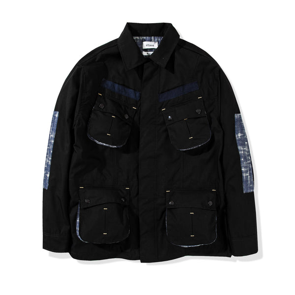 Jungle Jacket Ripstop/Halftone Black