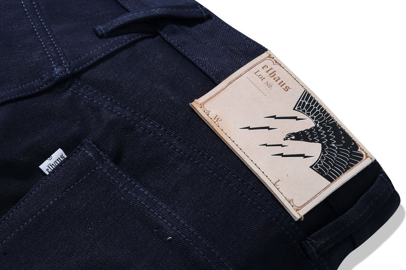 Nomad Denim Iron Tail 13oz Indigo x Indigo