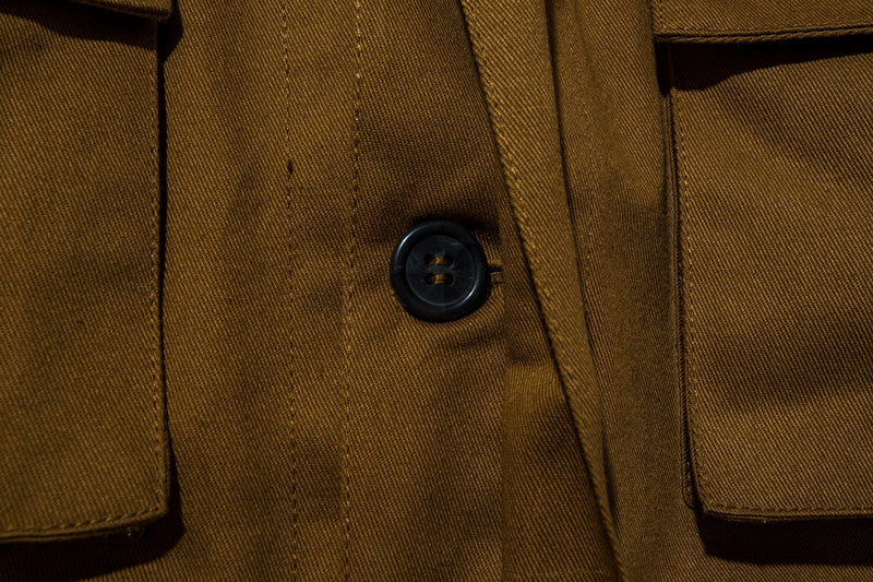 Cargo Jacket Twill Caramel Brown