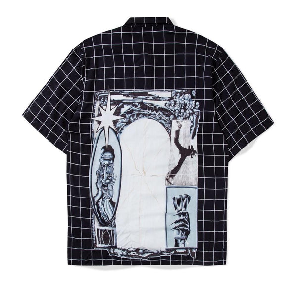 Glide Shirt Systematic Mess Black