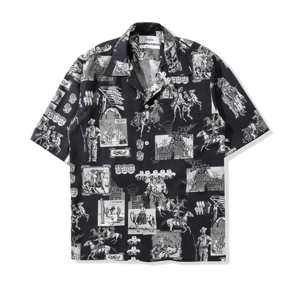 Glide Shirt Far West Black