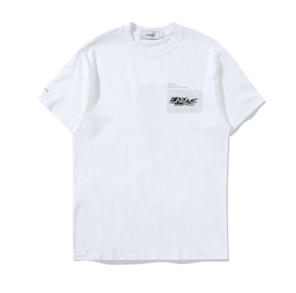 Glitch T-shirt White