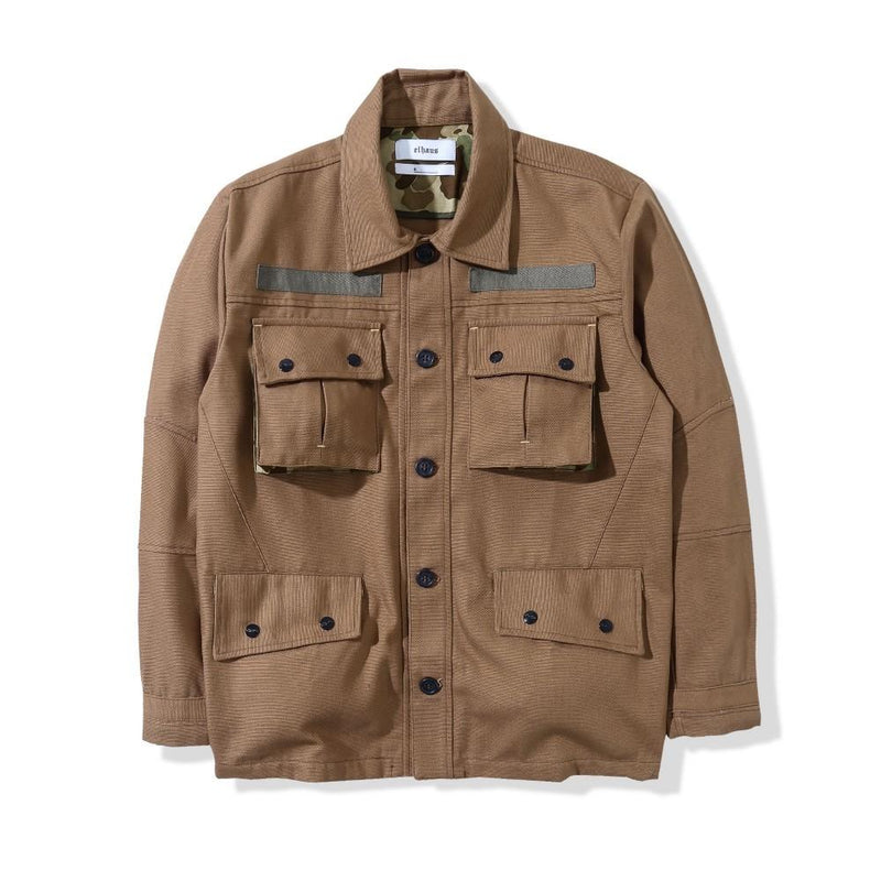 Ground Jacket Duck Camel Brown