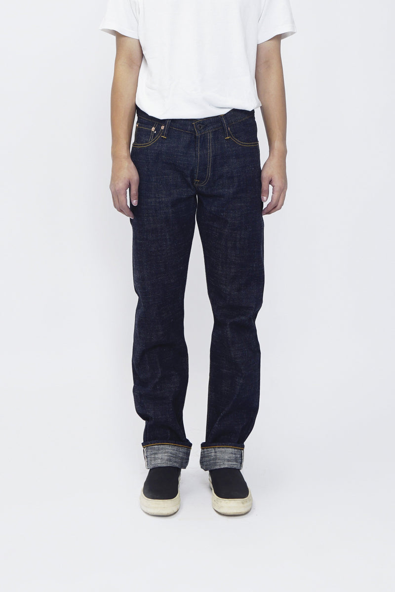 Iron Tail 16oz Indigo Ancient Slub