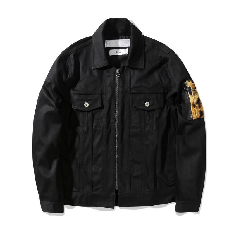 elhaus x Zodiac The Best Fit Denim Jacket Black