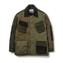 Jungle Jacket Mismatch Olive