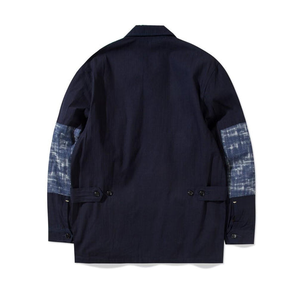 Jungle Jacket Denim Waffle Halftone Navy
