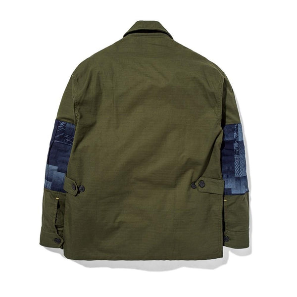 Jungle Jacket Slub/Digi Boro Olive