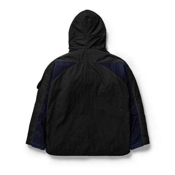 Shepherd Jacket Ripstop Patchwork Black