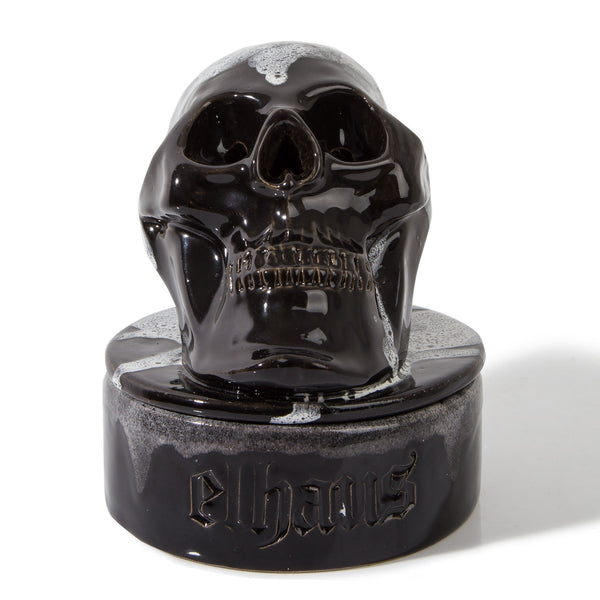 Skull Incense Chamber Black