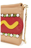 Hot Dog Mini Bag with Shoulder Chain