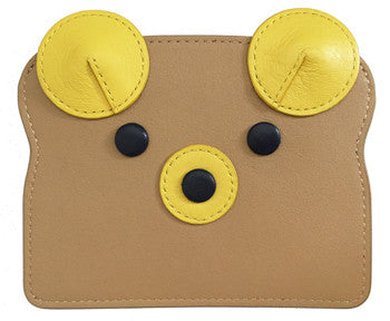 Banana Bear Toast Card Case