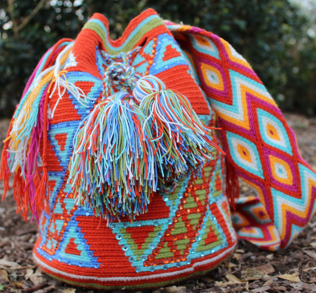 Wayuu Mochila -  Authentic Handmade Wayuu Bag - Tiara - MOBOLSO - 1