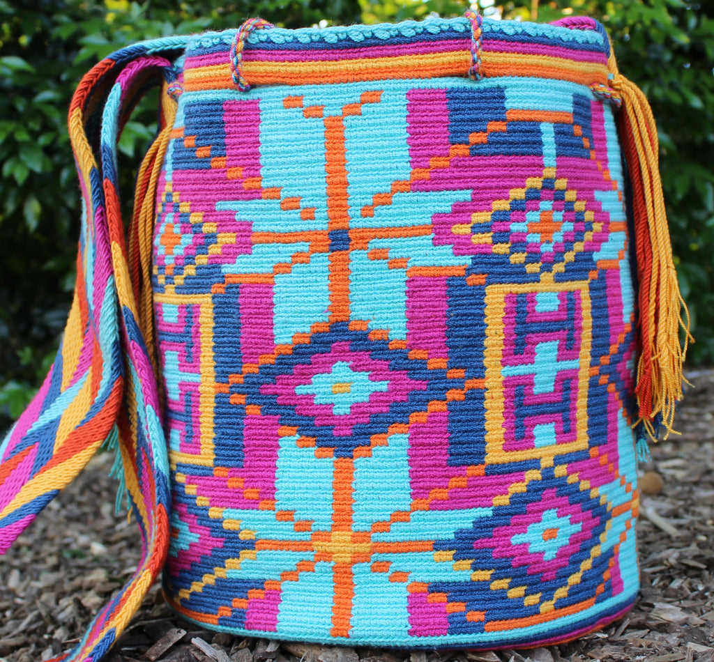 Wayuu Mochila -  Authentic Handmade Wayuu Bag - Catalina - MOBOLSO - 1