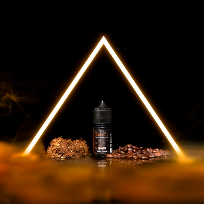 SAUCY SALTS – COFFEE CREME TOBACCO Best E-juice E-liquid Nicotine Salts