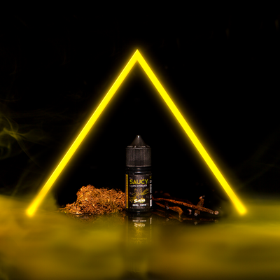SAUCY SALTS – VANILLA XTREME TOBACCO Best E-juice E-liquid Nicotine Salts