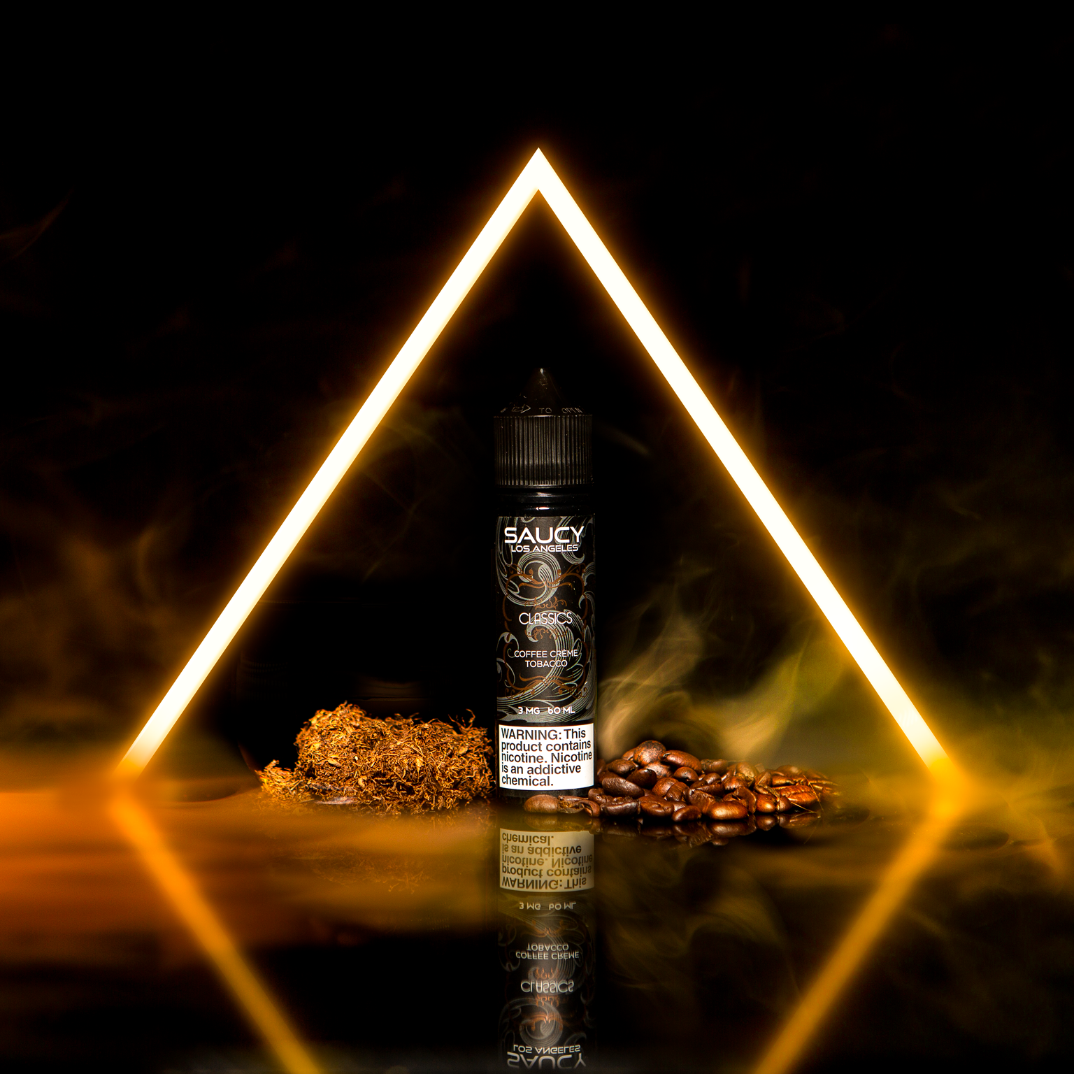 SAUCY CLASSICS – COFFEE CREME TOBACCO Best E-juice E-liquid Nicotine Salts