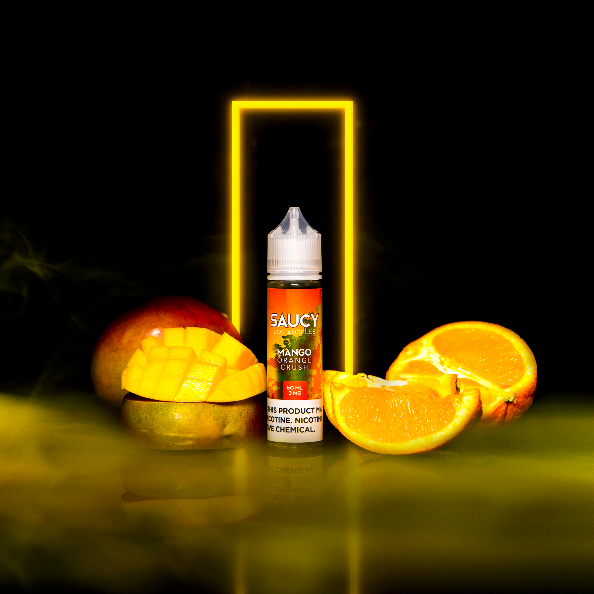 SAUCY ORIGINALS – MANGO ORANGE CRUSH Best E-juice E-liquid Nicotine Salts