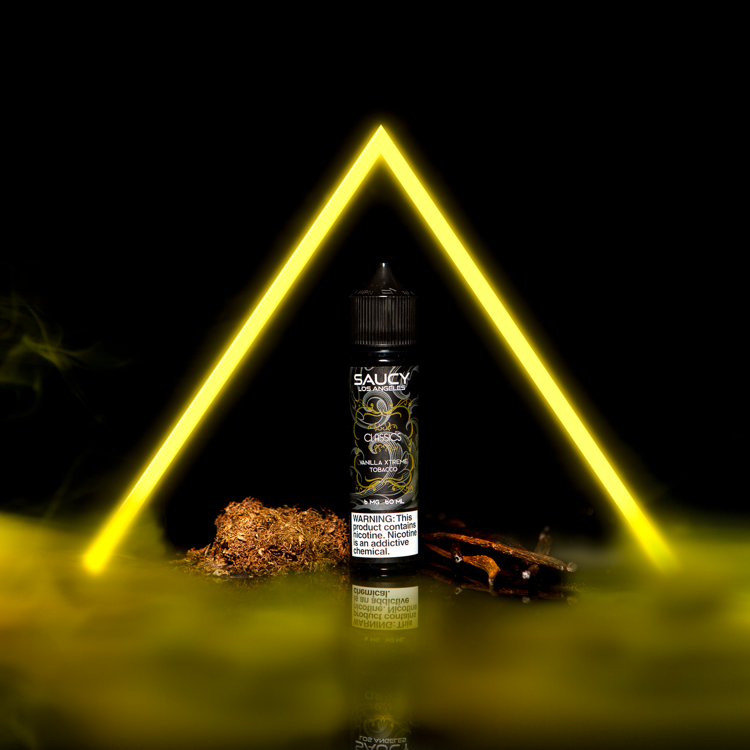 SAUCY CLASSICS – VANILLA XTREME TOBACCO Best E-juice E-liquid Nicotine Salts
