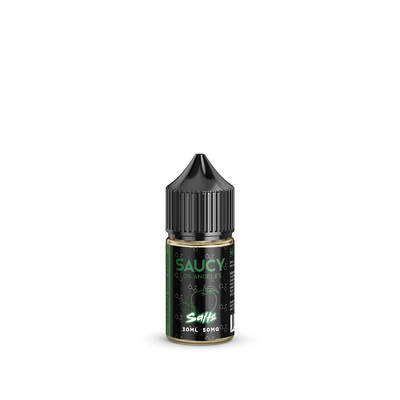 SAUCY SALTS – APPLE MINT TOBACCO Best E-juice E-liquid Nicotine Salts