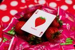 "Snackers ""Strawberry Flavor"" Playing Cards"