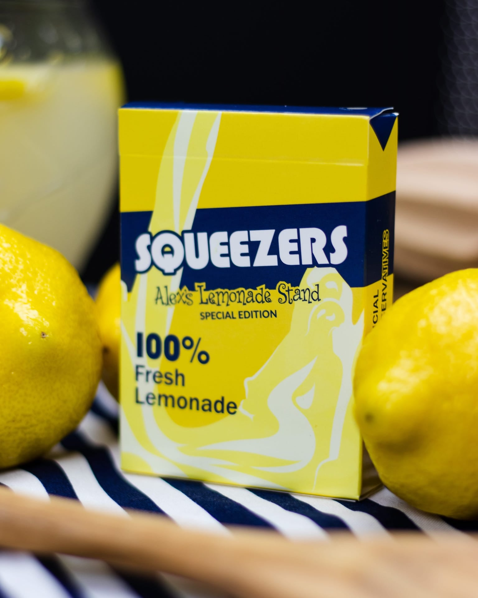 Squeezers Playing Cards V2 Alex's Lemonade Stand Edition