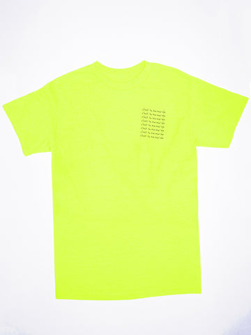 Adult Tee - Safety green