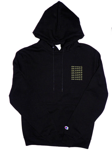 Fleece Hood - New design - Black