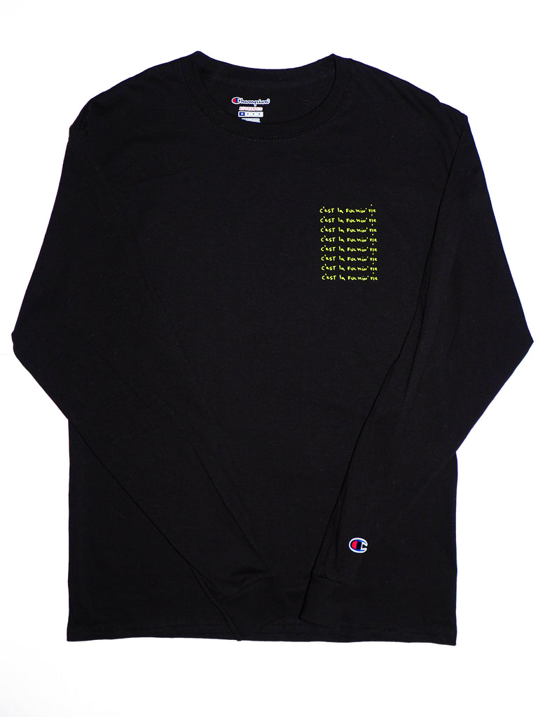 Adult Long Sleeve Tee - Black