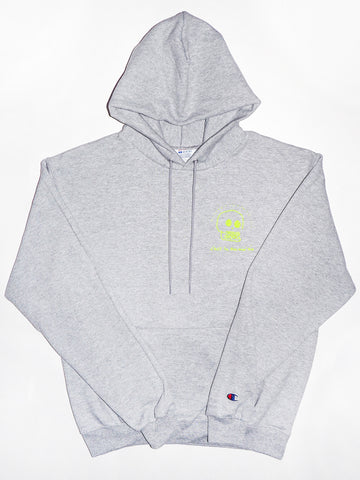 Fleece Hood - Heather grey